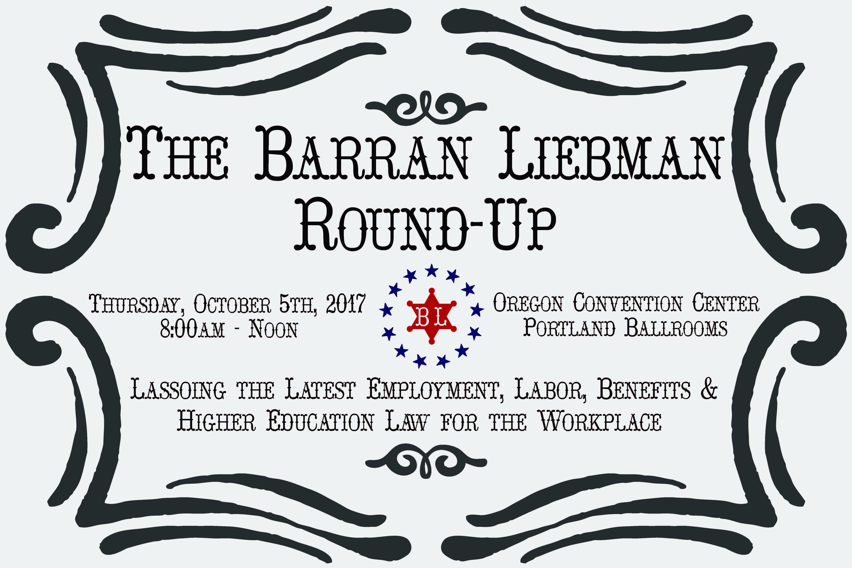 2017 barran liebman annual seminar barran liebman barran liebmans 2017 annual seminar stopboris Gallery
